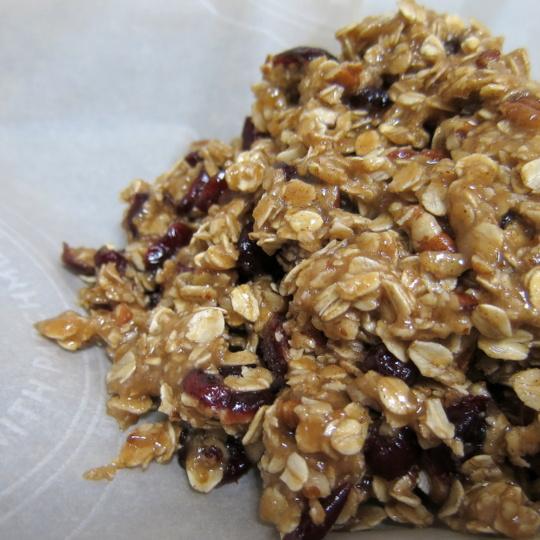 Cranberry Pecan Granola Bars