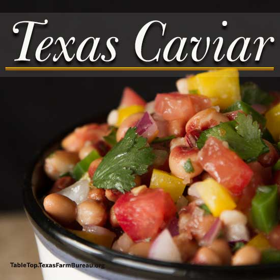 Texas Caviar recipe from Texas Table Top.