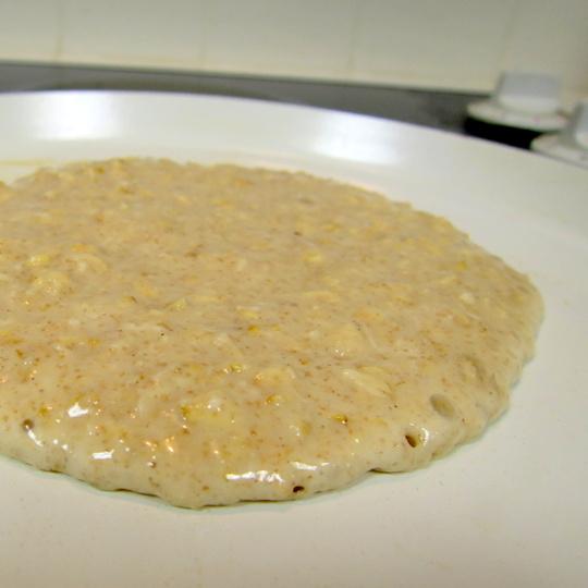 cinnamon oatmeal pancakes