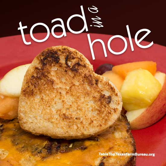 What's for breakfast? Toad in a Hole