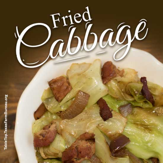 Freid Cabbage Recipe