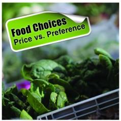 Food price vs. food preference