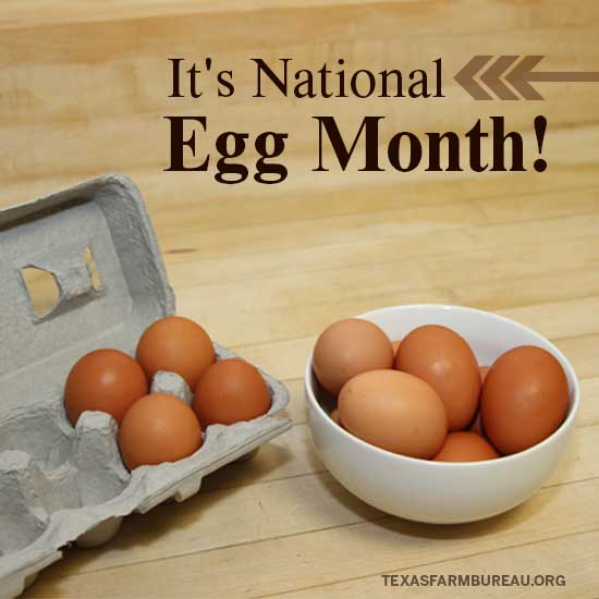 NationalEggMonth_Photo by Texas Farm Bureau