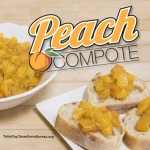 Texas Peach Compote Recipe