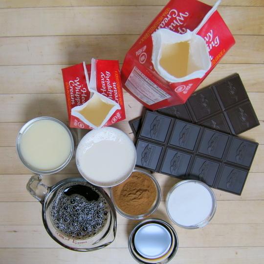 Chocolate Spice Ice Cream - Texas Farm Bureau - Table Top