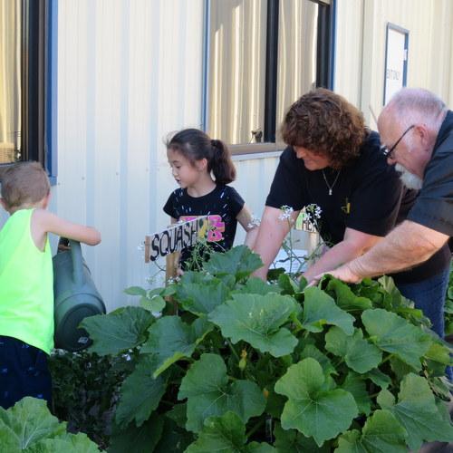 Boys and Girls Club of Gatesville garden