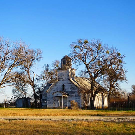 Old Texas Church