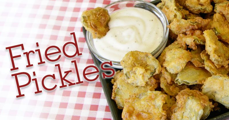 Fried Pickle Recipe