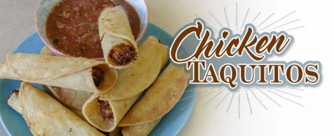 chicken taquitos