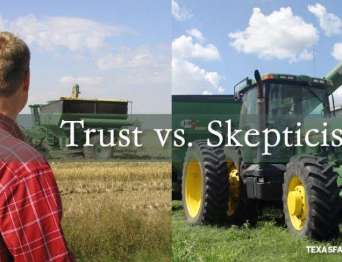 Consumer trust vs. skepticism