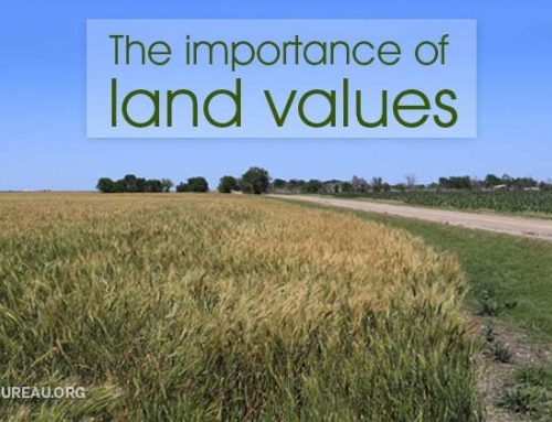 The importance of land values