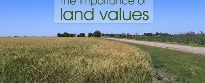 The importance of land values to farmers and ranchers