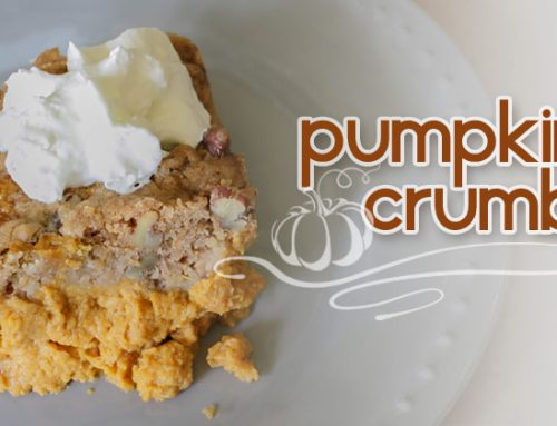 Pumpkin Crumble
