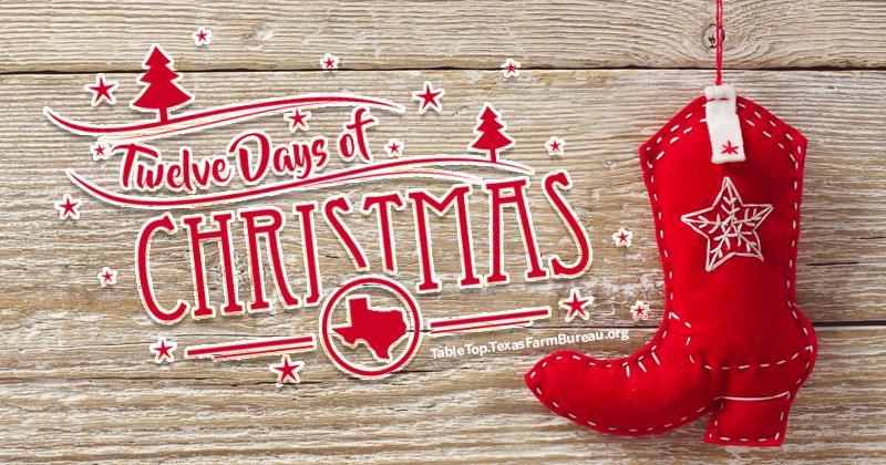 My Texan 12 Days of Christmas