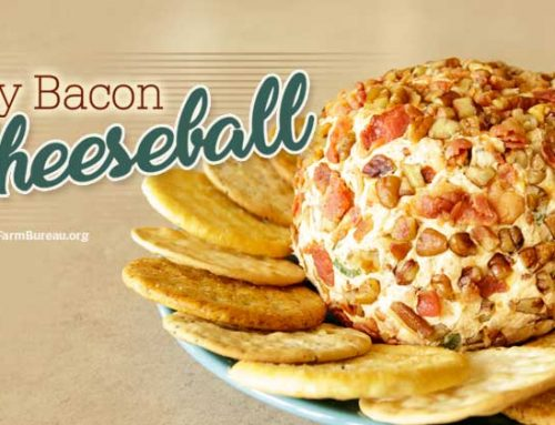 Spicy Bacon Cheese Ball