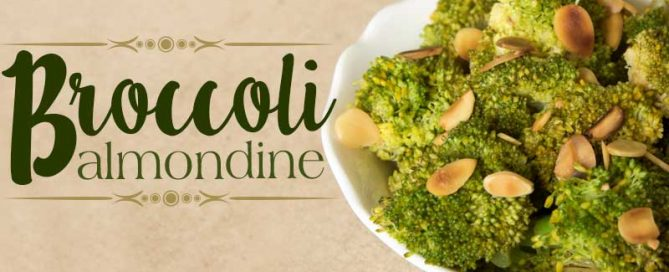 Broccoli Almondine