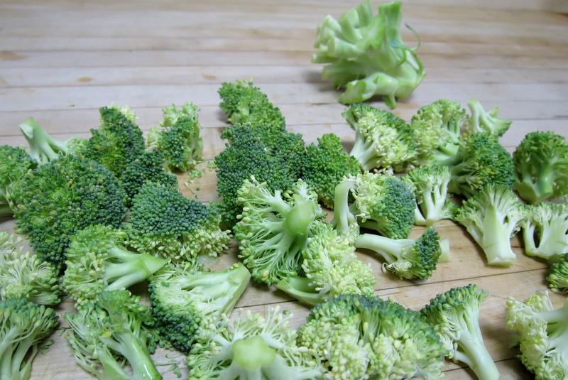 broccoli-almondine