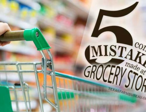 5 common mistakes made at the grocery store