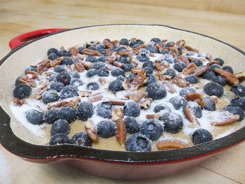Blueberry_Skillet_Cake
