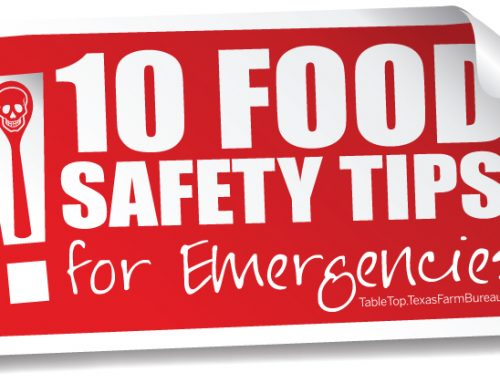10 food safety tips for emergencies