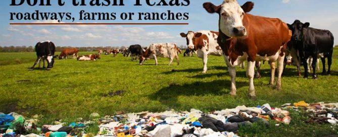 don't trash texas