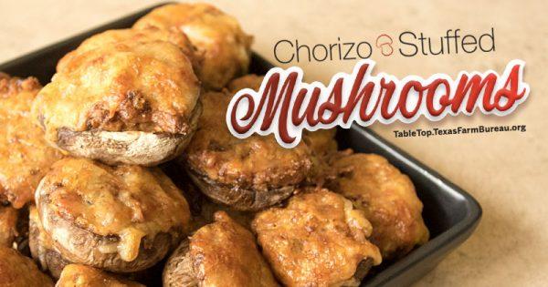 ChorizoStuffedMushrooms