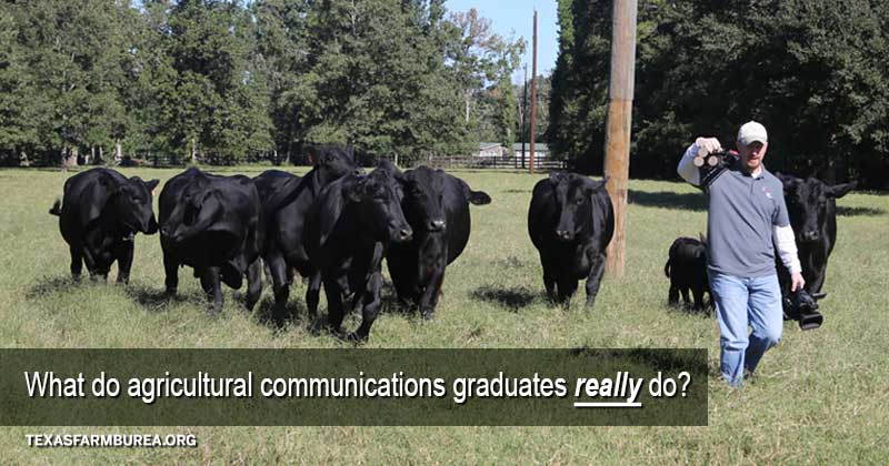 what do agricultural communicators really do