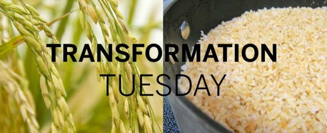 Transformation Tuesday Rice