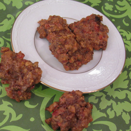 fruit cake cookies