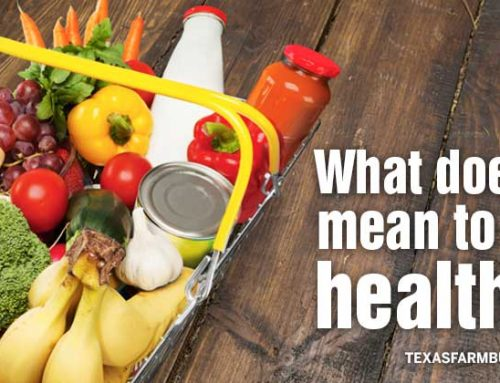 What does it mean to 'eat healthy?'
