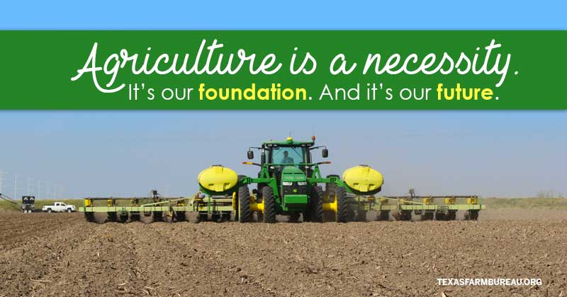Agriculture is a priority in Washington again