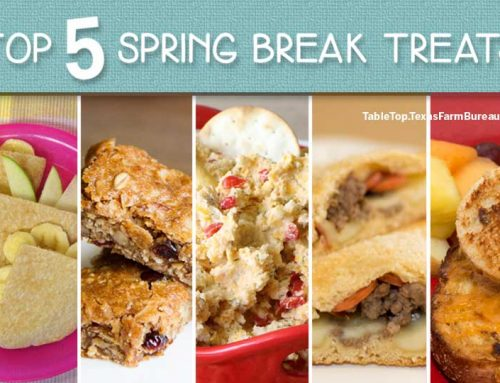Top 5 spring break treats