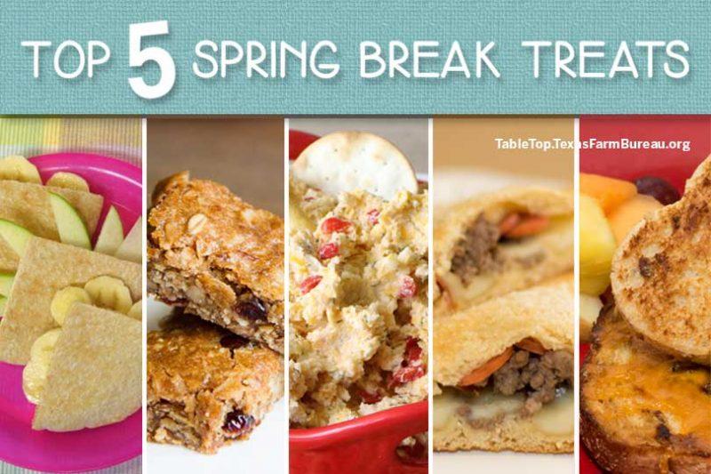 Top 5 Spring Break Treats