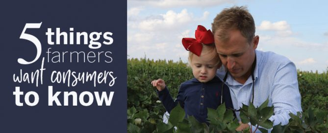 5 things farmers want consumers to know