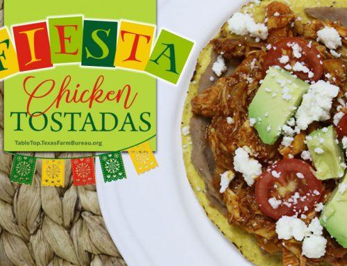Fiesta Chicken Tostadas