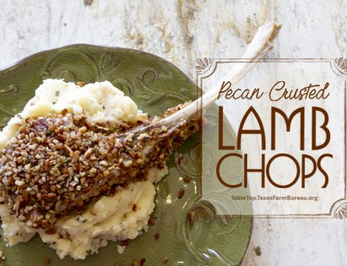 Pecan Crusted Lamb Chops