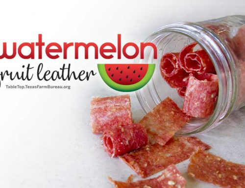 Watermelon Fruit Leather
