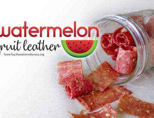Watermelon Fruit Leather