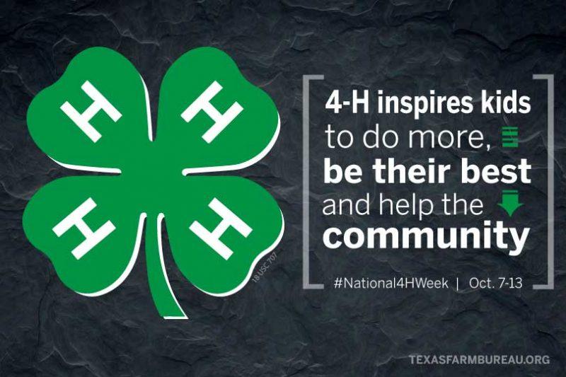 national 4-H week