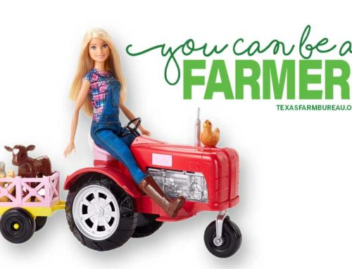 Farmer Barbie outfitted to bring ag to young girls
