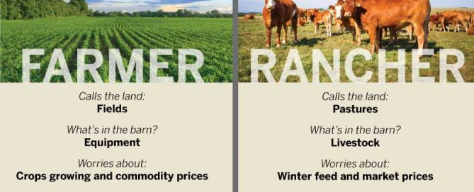 differences between farmers and ranchers