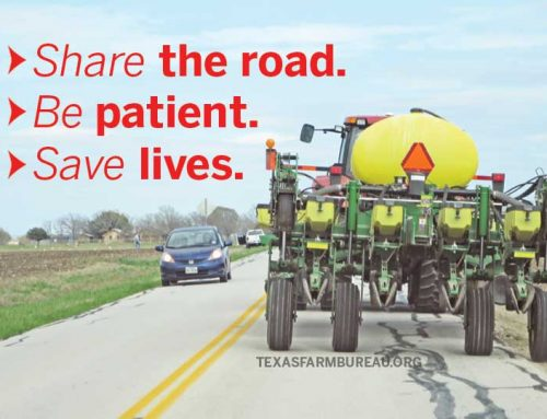 5 tips when driving behind farm equipment