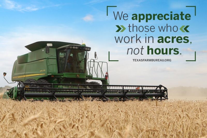 10 reasons to respect farmers and ranchers