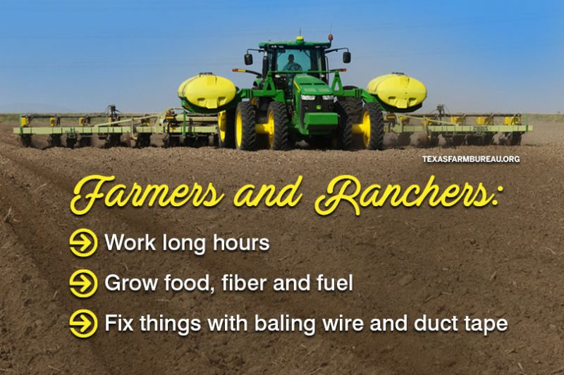 farmers and ranchers wanted
