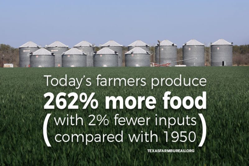 modern ag is efficient