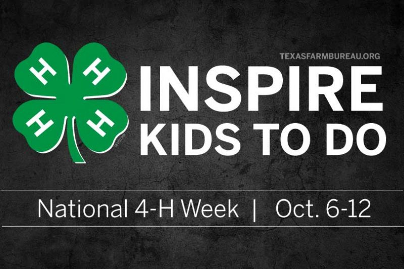 """Small town or big city, 4-H inspires young kids """"make the best better"""" through agriculture, leadership and volunteer opportunities."""