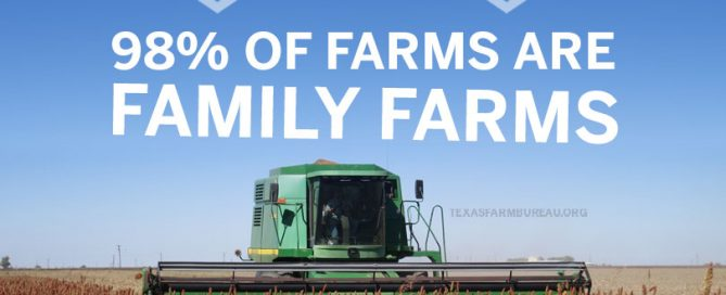 Family farms. Family values. 98% of farms are family farms, not factory farms.