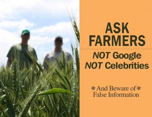 Ask a farmer about your food
