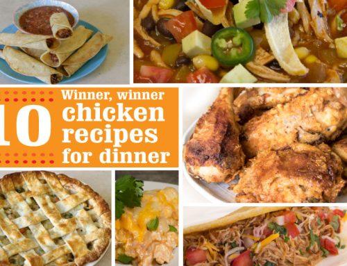 Winner, winner 10 chicken recipes for dinner