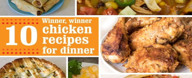 chicken recipes, weeknight meals, substitutions